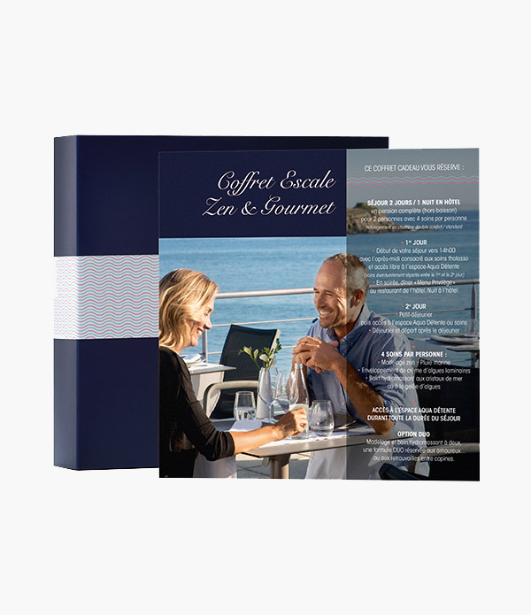 Coffret cadeau Zen & Gourmet